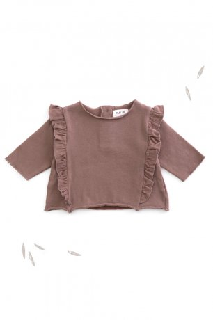 PLAY UP / Fleece Sweater / PURPLEWOOD / 2AH10901