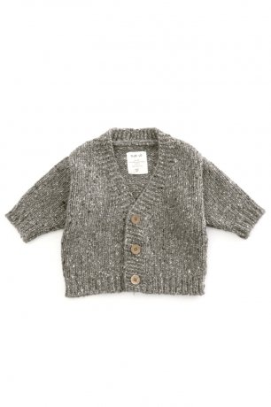 PLAY UP / Knitted Cardigan / WALNUT / 1AH11403