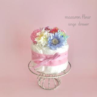 macaron fleur