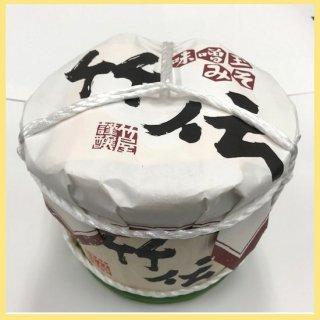 竹伝味噌玉みそ 2kg木樽入