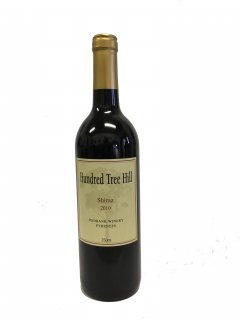 赤ワイン ハンドレッドツリーヒル シラーズ 2010年 (赤重口)