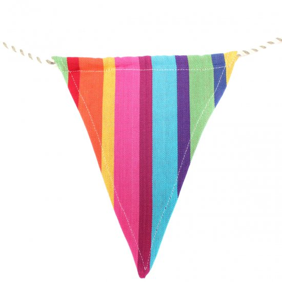 multi stripe bunting the tastemakers co online shop