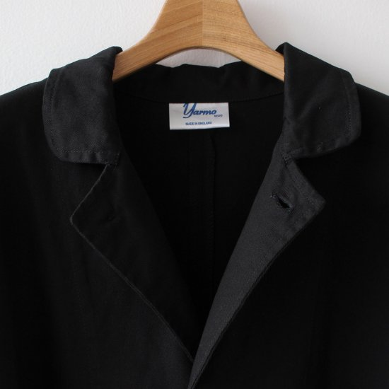 yarmo lab coat black the tastemakers co online shop