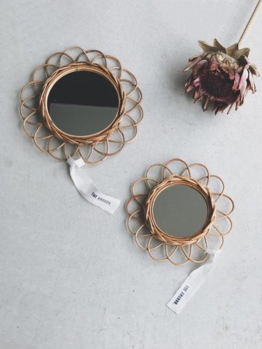 <img class='new_mark_img1' src='https://img.shop-pro.jp/img/new/icons55.gif' style='border:none;display:inline;margin:0px;padding:0px;width:auto;' />flower motif mirror(S)