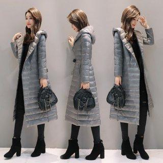 韓国ダウンコート❤厚みがないから軽く着られる♪ロングコート