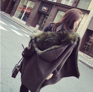 韓国コート❤裏が暖かいファーでぬくぬく気持ちいい♪ファーコート