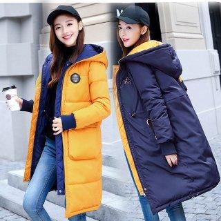 韓国コート❤リバーシブルで着られる便利なアイテム♪ダウンコート