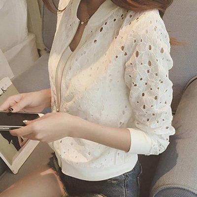韓国ブラウスアウター❤薄手で肩が透け感が大人の使えるシャツのようなアウター♪