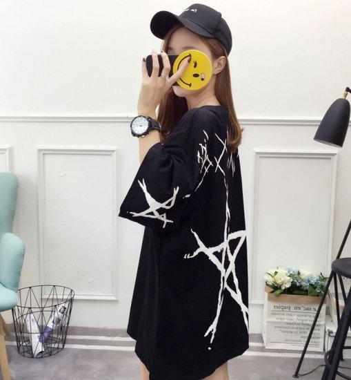 韓国トップスのTシャツ・カットソー・ポロシャツ
