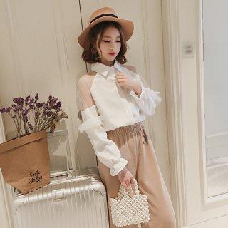 6e99f7666c0f4 シャツ・ブラウス - 韓国大人ファッション通販サイト レディースMarron ...