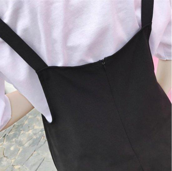 韓国オールインワン・サロペットのオールインワン・サロペット