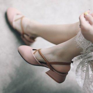 韓国サンダル❤可愛い韓国ファッションのサンダルハイヒール