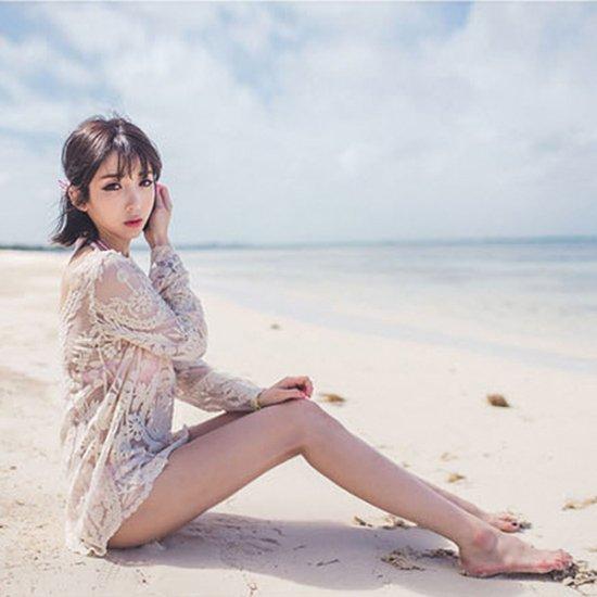 韓国水着のビーチウェア