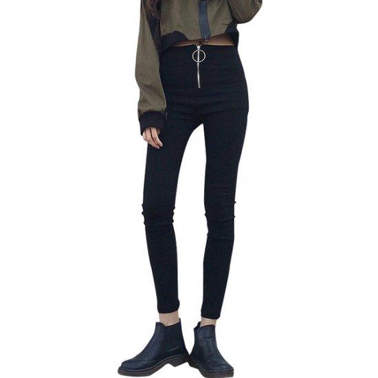 韓国パンツのスキニーパンツ