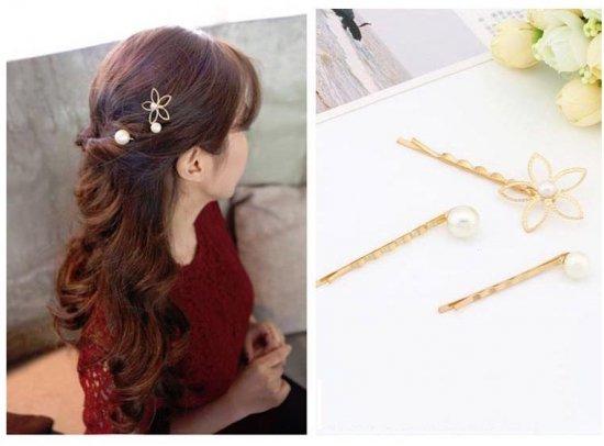 韓国アクセサリー・ジュエリーのヘアアクセサリー