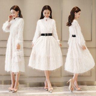 韓国ワンピース❤韓国ドレス ふわふわのとっても可愛いドレスが見つかりました