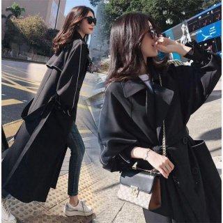 韓国トレンチコート❤羽織るのに最適な大人女子へのロングコート