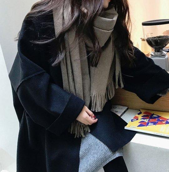 韓国アウター・ジャケットのチェスターコート