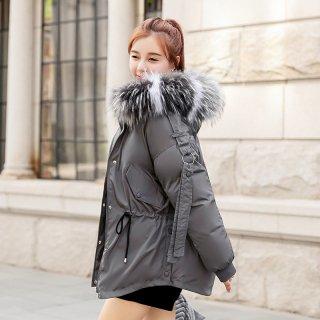 韓国アウター❤ショートダウンコート スマートなコーデに使えるダウンジャケット
