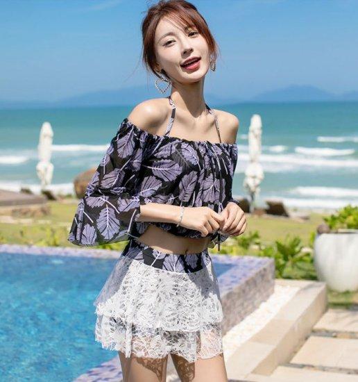 韓国水着のビスチェビキニ