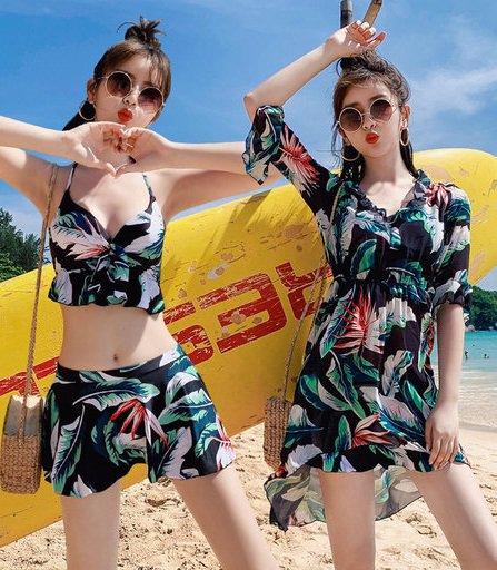 韓国水着のワンピース水着