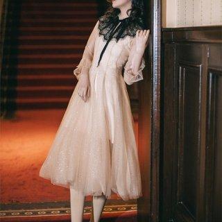 韓国ワンピース❤韓国ドレス ふんわりラインが可愛いパーティードレス