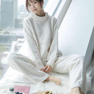 韓国ルームウェア❤ナチュラルな雰囲気の可愛い大人ルームウェア 963326