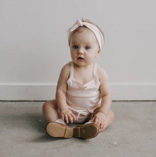 Organic Cotton Singlet Bodysuit