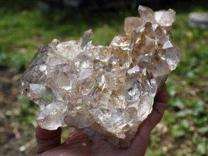 クル産ヒマラヤ水晶クラスター