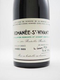 1989 ROMANEE SAINT VIVANT DRC            1989 ロマネ・サン・ヴィヴァン DRC