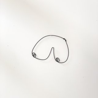Wire Sculpture -Oppai-