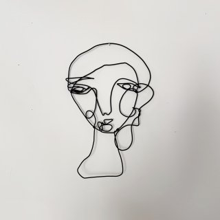 Wire Sculpture -FACE-
