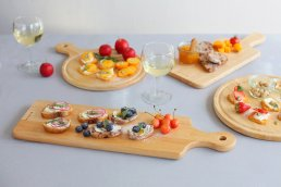 【ACACIA】CUTTING BOARD SQUARE L
