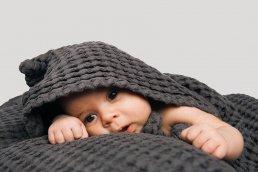 BIG WAFFLE BABY TOWEL
