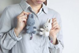 Miffy Corduroy Keychain 10cm <img class='new_mark_img2' src='https://img.shop-pro.jp/img/new/icons2.gif' style='border:none;display:inline;margin:0px;padding:0px;width:auto;' />