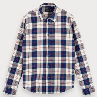 <img class='new_mark_img1' src='//img.shop-pro.jp/img/new/icons15.gif' style='border:none;display:inline;margin:0px;padding:0px;width:auto;' />Checked Flannel Shirt Regular fit Combo A