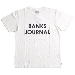 <img class='new_mark_img1' src='//img.shop-pro.jp/img/new/icons1.gif' style='border:none;display:inline;margin:0px;padding:0px;width:auto;' />BANKS JOURNAL PK JOURNAL TEE SHIRT Off White