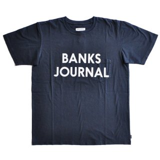 <img class='new_mark_img1' src='//img.shop-pro.jp/img/new/icons1.gif' style='border:none;display:inline;margin:0px;padding:0px;width:auto;' />BANKS JOURNAL PK JOURNAL TEE SHIRT Dirty Denim