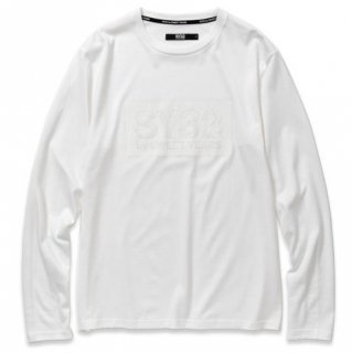 <img class='new_mark_img1' src='//img.shop-pro.jp/img/new/icons14.gif' style='border:none;display:inline;margin:0px;padding:0px;width:auto;' />BOX LOGO L/S TEE White×White