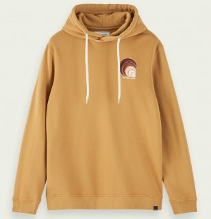<img class='new_mark_img1' src='//img.shop-pro.jp/img/new/icons14.gif' style='border:none;display:inline;margin:0px;padding:0px;width:auto;' />100% cotton embroidered branded hoodie Sandlewood