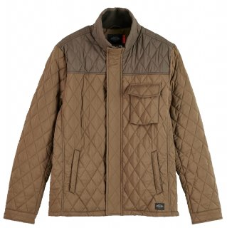 <img class='new_mark_img1' src='//img.shop-pro.jp/img/new/icons14.gif' style='border:none;display:inline;margin:0px;padding:0px;width:auto;' />Shorter length quilted jacket Military