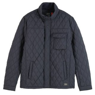 <img class='new_mark_img1' src='//img.shop-pro.jp/img/new/icons14.gif' style='border:none;display:inline;margin:0px;padding:0px;width:auto;' />Shorter length quilted jacket Night