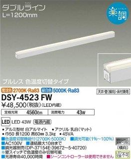 DSY-4523FW ベースライト 大光電機(DAIKO)