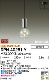 DPN-40251Y ペンダント 大光電機(DAIKO)