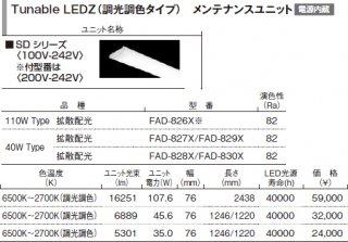 FAD-828X  ランプ類 LEDユニット LED 遠藤照明