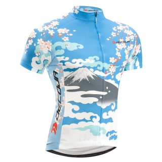 a2434bfac96196 ... DECOJA サイクルジャージ 半袖 桜富士(27110)[送料無料] サイクルウェア 自転車