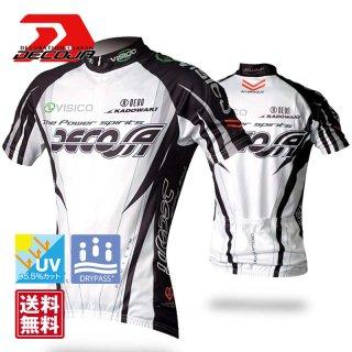 DECOJA サイクルジャージ半袖ガイル(23280)[送料無料] サイクルウェア 自転車ウェア サイクルジャージ