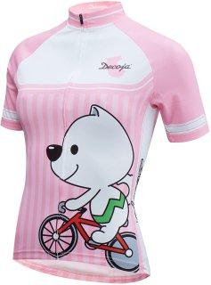dffecc50d1d34d ... 送料無料] サイクルウェア 自転車ウェア サイクルジャージ 5,680円(内税); DECOJA レディース サイクルジャージ半袖  きいちゃん(29278)