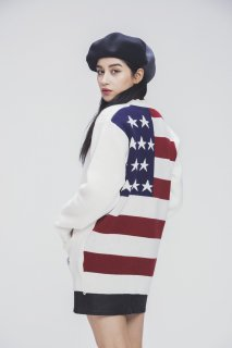 SP 18S AMERICAN CARDIGAN-WHITE-
