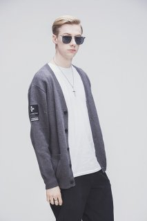 SP PARADOX CARDIGAN-CHARCOAL-